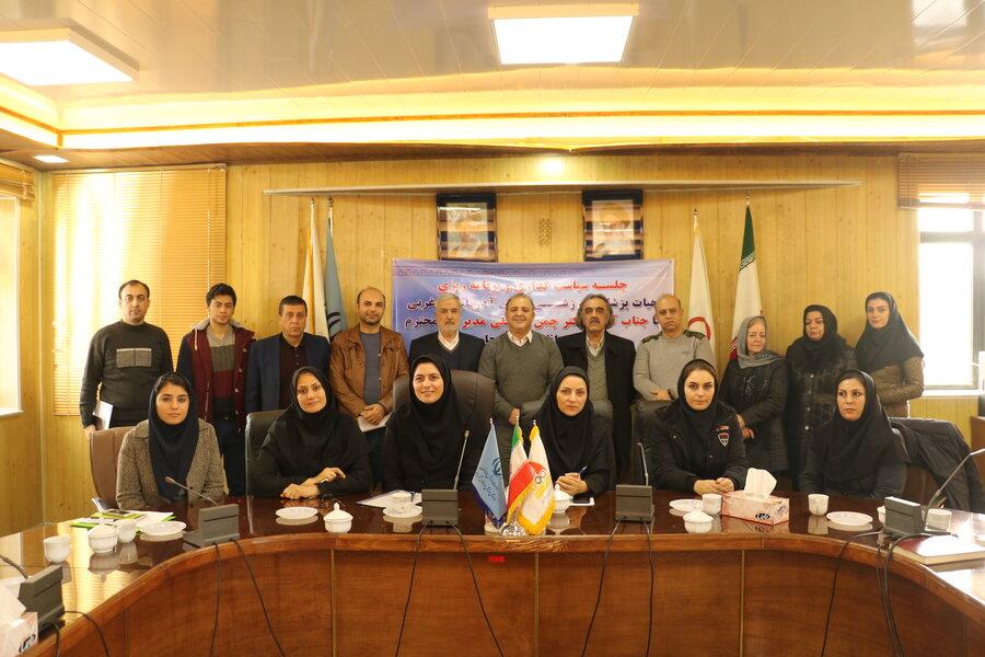 گزارش تصویری  _ جلسه سیاست گذاری و برنامه ریزی هیات پزشکی ورزشی استان آذربایجان غربی