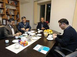 بازدید دکترنوروزی از کلینیک فیزیوتراپی و هیأت پزشکی کرمان