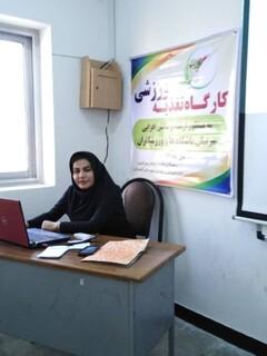 کارگاه تغذیه ورزشی در شهرستان گچساران استان کهگیلویه وبویر احمد