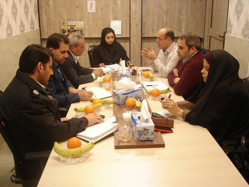 نشست شورای مرکزی ستاد نظارت بر سلامت اماکن ورزشی استان مرکزی برگزار شد