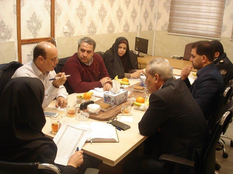 گزارش تصویری /دومین نشست شورای مرکزی ستاد نظارت بر سلامت اماکن ورزشی استان مرکزی