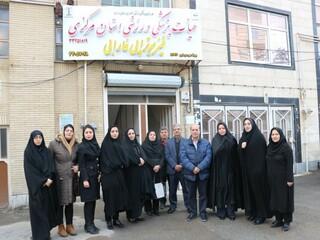بازدید مسئولان ورزش بانوان از هیات پزشکی ورزشی استان مرکزی