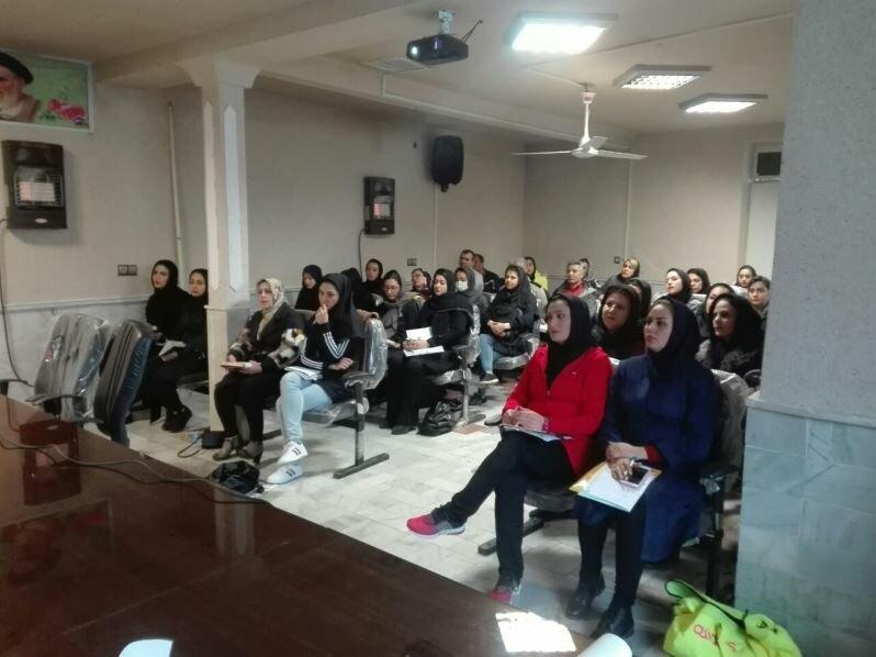 کارگاه تخصصی حرکات اصلاحی  و  تیپینگ در ساوه
