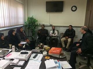 بازدید نمایندگان هیأت پزشکی قزوین از تاکستان