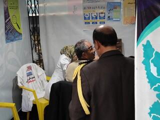 برپایی ایستگاه تندرستی-کرمان