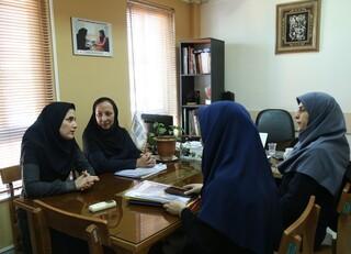 بازدید سرپرست دفتر سیاستگذاری و توسعه ورزش بانوان از فدراسیون پزشکی ورزشی