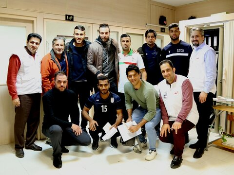 تشکیل پرونده سلامت برای ملی پوشان فوتبال ساحلی در فدراسیون پزشکی ورزشی