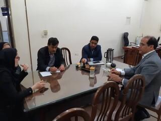 گزارش تصویری/ بازدید رییس هیات پزشکی ورزشی استان از هیات شهرستان دیلم