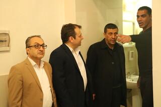 بازدید دبیر فدراسیون از سالن های بدنسازی سطح شهر ارومیه