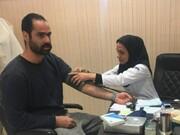 ارائه خدمات به ملی پوشان در ستادپزشکی ورزشی آزادی
