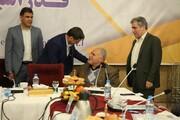 تقدیر از  استاد محمد جواد پناهی در مجمع عمومی فدراسیون پزشکی ورزشی