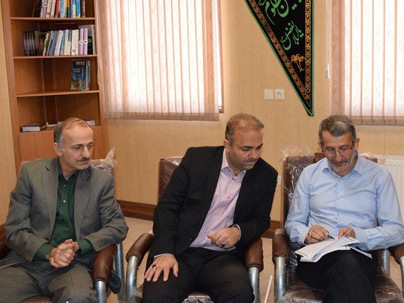 مدیر کل ورزش و جوانان استان سمنان از هیات پزشکی ورزشی استان بازدید کرد