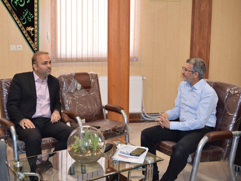 بازدید مدیر کل اداره ورزش و جوانان استان سمنان از  ساختمان هیات پزشکی ورزشی