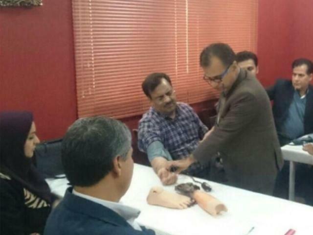 کارگاه آموزشی کمک های اولیه  در مشهد