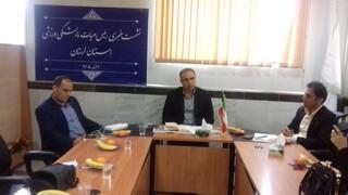 نشست خبری رییس هیات پزشکی ورزشی استان لرستان با اصحاب رسانه