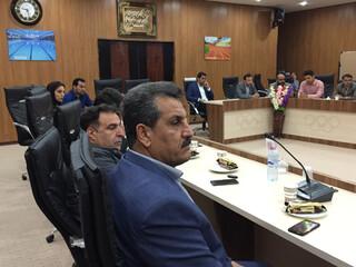 جلسه هماهنگی و برنامه ریزی مدیریت بحران با حضور رییس هیات پزشکی  ورزشی استان بوشهر