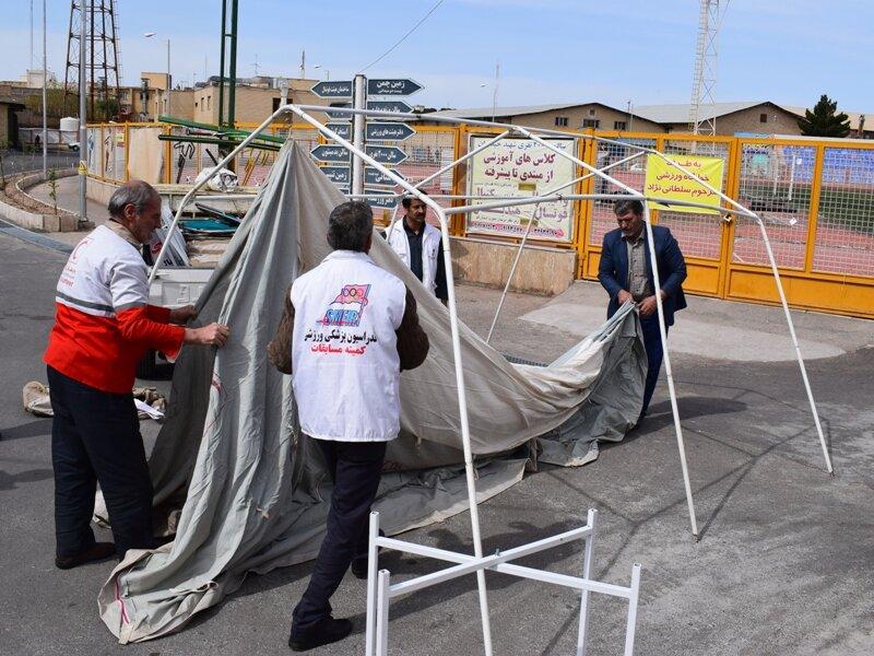 برپایی چهار مرکز جمع آوری کمک به سیل زدگان