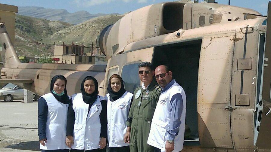 اعزام تیم سلامت روان هیات پزشکی ورزشی استان لرستان به مناطق سیل زده