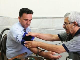 طرح تست فشارخون هیات پزشکی ورزشی یزد