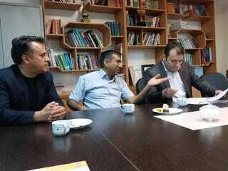 بازدید دکتر ملک محمدی از هیأت پزشکی کرمان