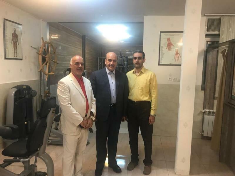 نماینده اراک در مجلس شورای اسلامی از هیات پزشکی ورزشی استان مرکزی بازدید کرد