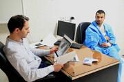 شکستگی دست دانشور نیاز به جراحی ندارد