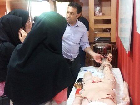 کارگاه آموزشی کمک های اولیه در مشهد برگزار شد