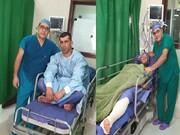 دو ملی پوش توسط دکتر توکلی عمل جراحی شدند