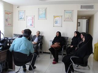 جلسه هماهنگی با رئیس اداره ورزش قزوین