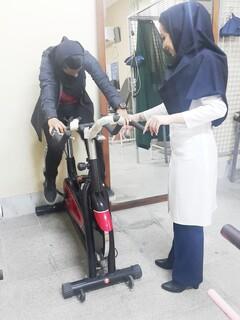 معاینات پزشکی و فیزتراپی برای ورزشکاران در هیات بوشهر