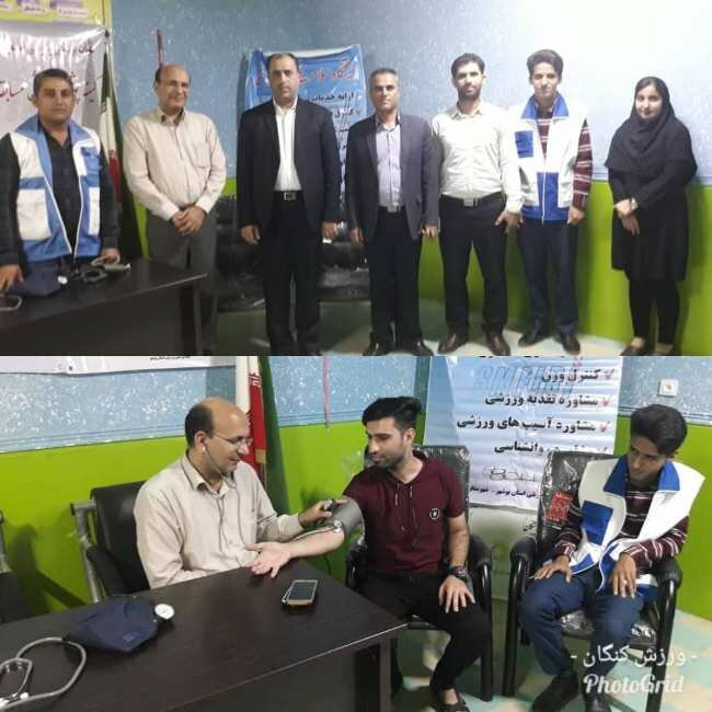 گزارش تصویری/ از برپایی ایستگاه سلامت در سراسر استان بوشهر