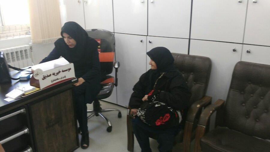 حضور تیم روانشناسی هیات پزشکی ورزشی لرستان در سرای سالمندان صدیق