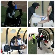 پوشش پزشکی تست آمادگی جسمانی داوران فوتبال هرمزگان توسط نایب رئیس هیئت پزشکی
