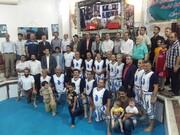 حضور دکتر اسدپور در جشن گلریزان جمع آوری کمک به سیل زدگان