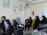 بازدید کارشناسان آموزش وزارت ورزش از هیأت پزشکی قزوین