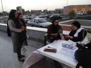 ایستگاه سلامت هفته مبارزه با مواد مخدر-کرمان