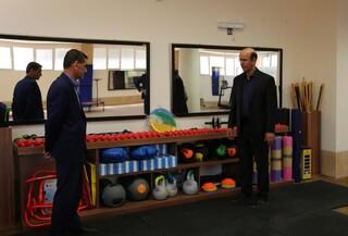 بازدید دکتر نوروزی از هیات پزشکی ورزشی اصفهان
