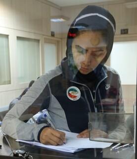 تشکیل پرونده سلامت برای تیم دختران تکواندو