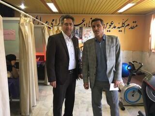 بازدید فیزیوتراپی قزوین