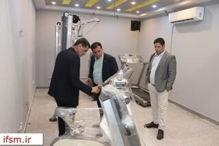 بازدید رئیس فدراسیون از هیات پزشکی ورزشی فارس