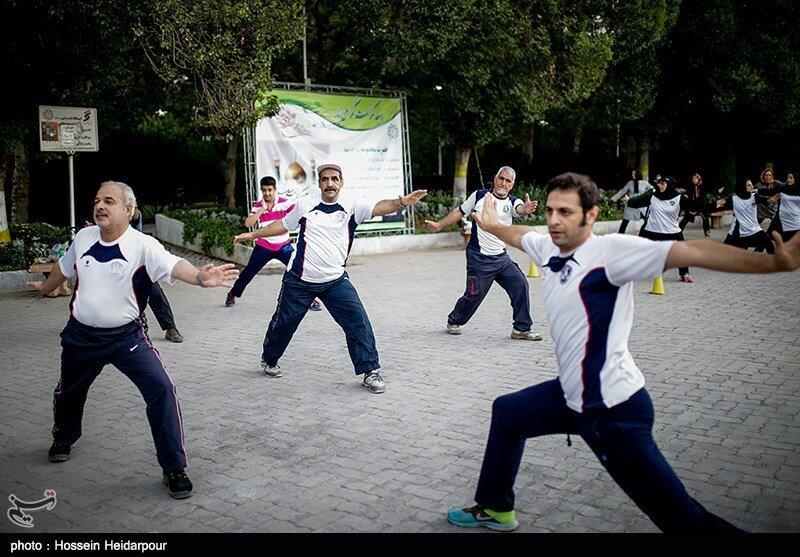 کارگاه آموزشی فعالیت جسمانی در میانسالان