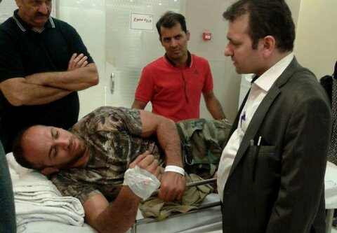 دکتر ملک محمدی: خوشبختانه مرادی گنجی آسیب جدی ندیده است