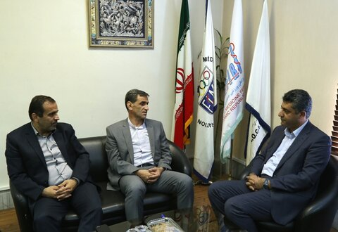 دکتر نوروزی با نماینده کردستان در مجلس شورای اسلامی دیدار کرد