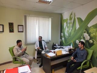 نشست دکتر اسدپور با رییس هیات تکواندو