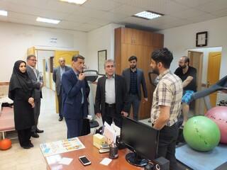 بازدید دکتر نوروزی از هیات پزشکی ورزشی استان گیلان