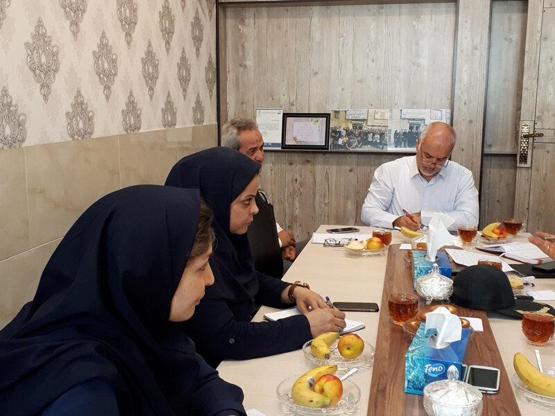 گزارش تصویری /اولین نشست شورای مرکزی ستاد نظارت بر سلامت اماکن ورزشی استان مرکزی