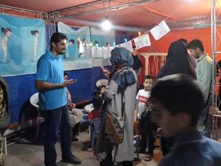 غرفه هیأت پزشکی ورزشی کرمان در نمایشگاه کودک