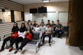 تشکیل پرونده سلامت برای تیم نوجوانان و نونهالان دختران و پسران ووشو