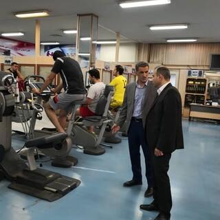بازدید دکتر امینی از فدراسیون پزشکی ورزشی
