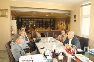 نشست هم اندیشی دکتر نورزوی با مدیرکل ورزش و جوانان آذربایجان غربی دکتر چمن گلییییی